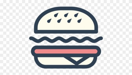 Food Icon Png Png Icons Cafe Restaurant Coffee Shop Burger Logo Vector Png Free Transparent PNG Clipart Images Download