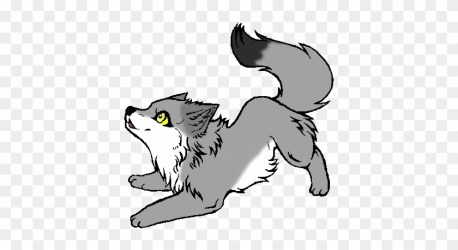Easy Cute Baby Wolf Drawing