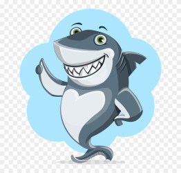 Beluga Whale Cartoon 25 Shark With Thumbs Up Free Transparent PNG Clipart Images Download
