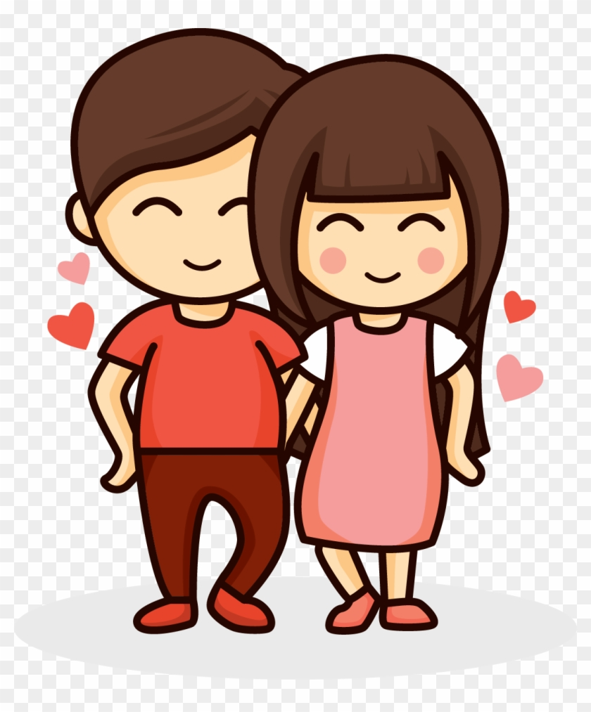 Cartoon Couple Drawing : cartoon, couple, drawing, Couple, Drawing, Romance, Cartoon, Transparent, Clipart, Images, Download