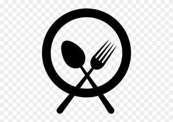 Plate With Fork And Knife Cross Vector Food Plate Icon Vector Free Transparent PNG Clipart Images Download
