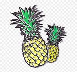 Pineapple Cliparts Outline Of A Pineapple Free Transparent PNG Clipart Images Download