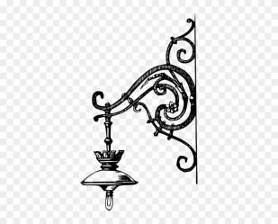 Vintage Lamp Post Clip Art Clipart Diwali Diya Clipart Black & White Free Transparent PNG Clipart Images Download