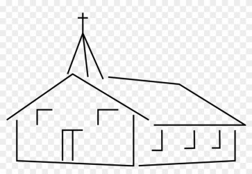 Church Building Clipart Vector Clip Art Online Royalty Church Clipart Black And White Free Transparent PNG Clipart Images Download