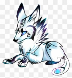 Simple Wolf Drawings Draw A Baby Wolf Free Transparent PNG Clipart Images Download