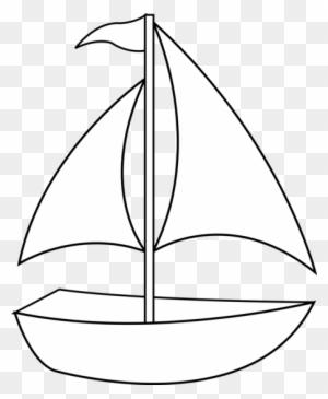 Boat Clipart Black And White : clipart, black, white, Clipart, Black, White,, Transparent, Images, Download, ClipartMax