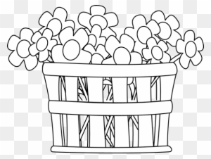 Flower Outline Clip Art Black And White Transparent PNG Clipart Images Free Download ClipartMax