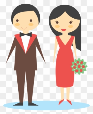 Pengantin Vektor Png : pengantin, vektor, Wedding,, Couple,, Bride,, Broom,, Bouqette, Pengantin, Vektor, Transparent, Clipart, Images, Download