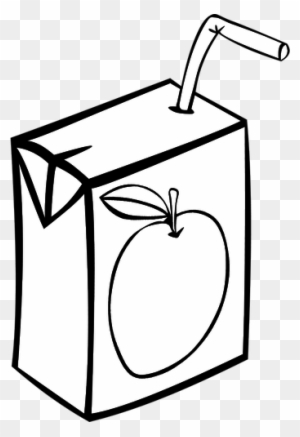 How To Draw A Juice Box : juice, Apple, Juice, Vector, Image, Drawing, Transparent, Clipart, Images, Download