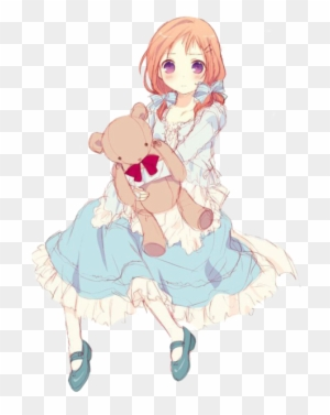Teddy Bear Anime Girl : teddy, anime, Comment, Anime, Teddy, Transparent, Clipart, Images, Download