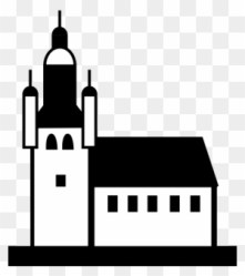 Church Silhouette Cliparts House Cartoon Black And White Free Transparent PNG Clipart Images Download