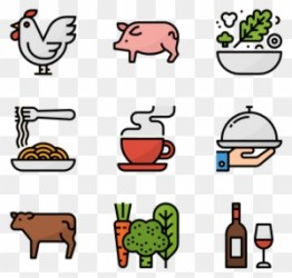 Lunch Vector Meal Food Free Transparent PNG Clipart Images Download
