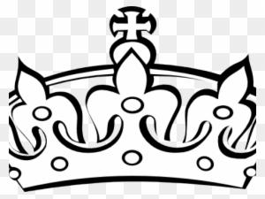 King Crown Clip Art Black And White Transparent PNG Clipart Images Free Download ClipartMax
