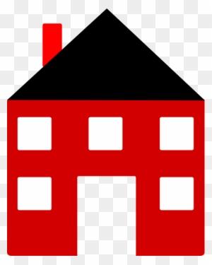 Rumah Vektor Png : rumah, vektor, Image, House, Clipart, Black, White, Rumah, Vektor, Transparent, Images, Download
