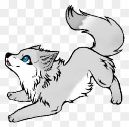 wolf pup anime drawings drawing draw wolves easy dibujos howling puppy base desenho undertale simple kawaii resultado lobo chibi desenhos