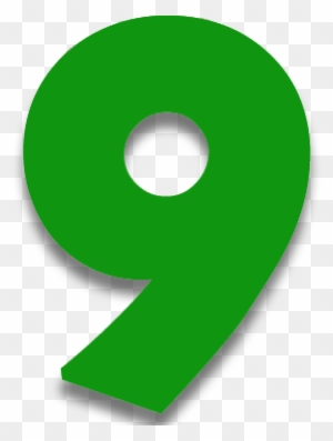 Angka 9 Png : angka, Numerology, Meaning, Number, Green, Transparent, Clipart, Images, Download