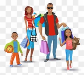 Family Shopping Clipart Transparent PNG Clipart Images Free Download ClipartMax