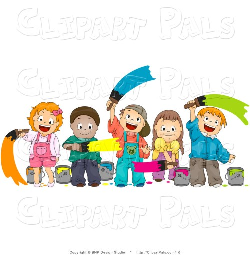 small resolution of royalty free art class stock friend clipart illustrations