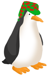 penguin clipart walking angry funny clip drawings transparent cartoon swimming drawing cute ring clipartqueen webstockreview