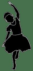 silhouette clip dancing dancer children silhouettes dance clipart line kid ballet mask transparent boy library forgetmenot clipartqueen
