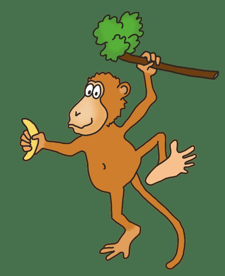 Funny Monkey Drawing : funny, monkey, drawing, Funny, Monkey, Drawings