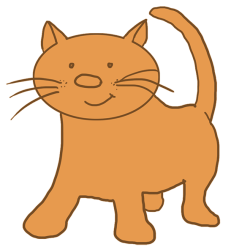 cat cartoon clipart animals transparent background kitten drawings cute brown kittens animal light clipartmag getdrawings clipartqueen