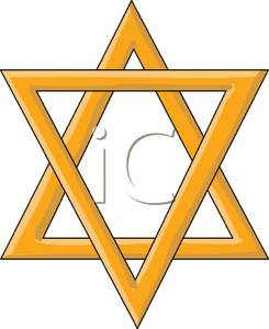 gold star of david clipart