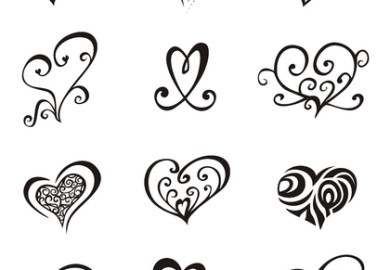 Tattoo Designs Hearts With Names