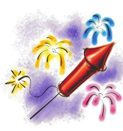 fireworks clipart free animated [ 1050 x 1050 Pixel ]