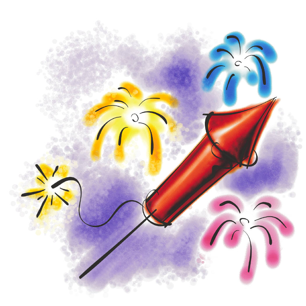 hight resolution of fireworks clipart free animated