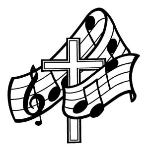 cool crosses draw cliparts easy christian coloring clip pages church religious clipart choir gospel