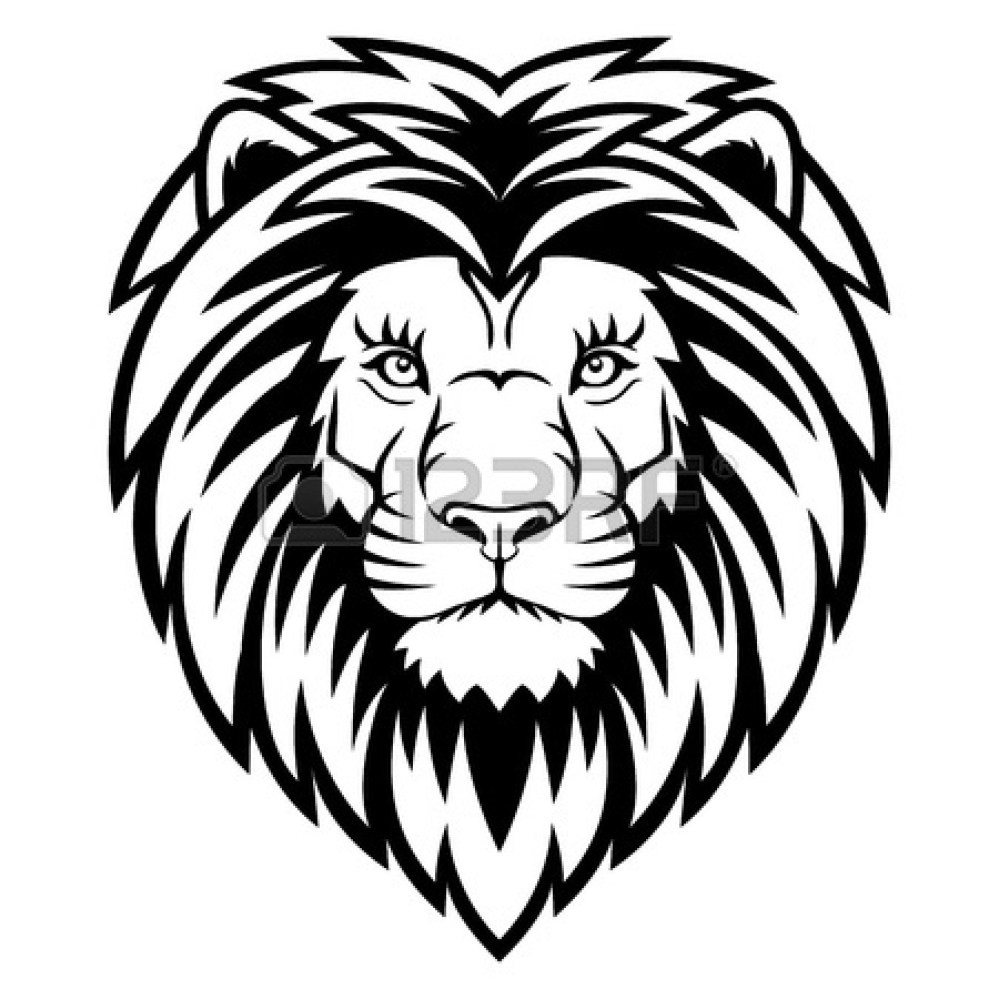 medium resolution of roaring lion clipart black and white clipart panda free
