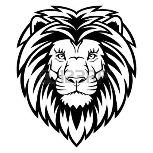small resolution of roaring lion clipart black and white clipart panda free