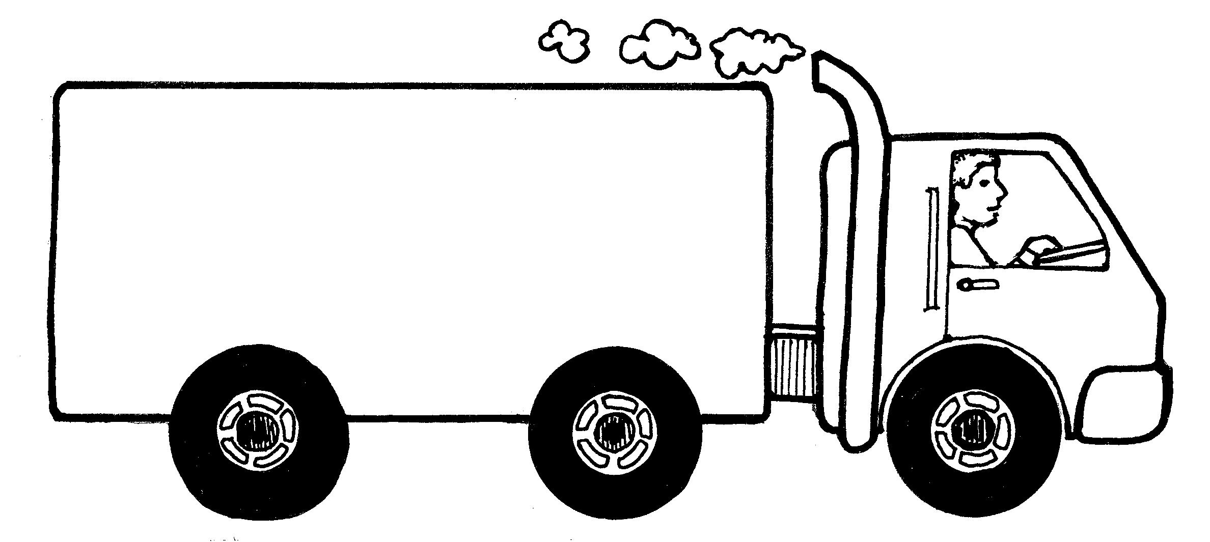 Moving Van Clipart