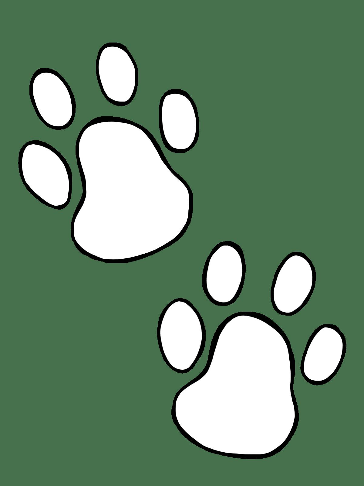 Dog Paws Clip Art