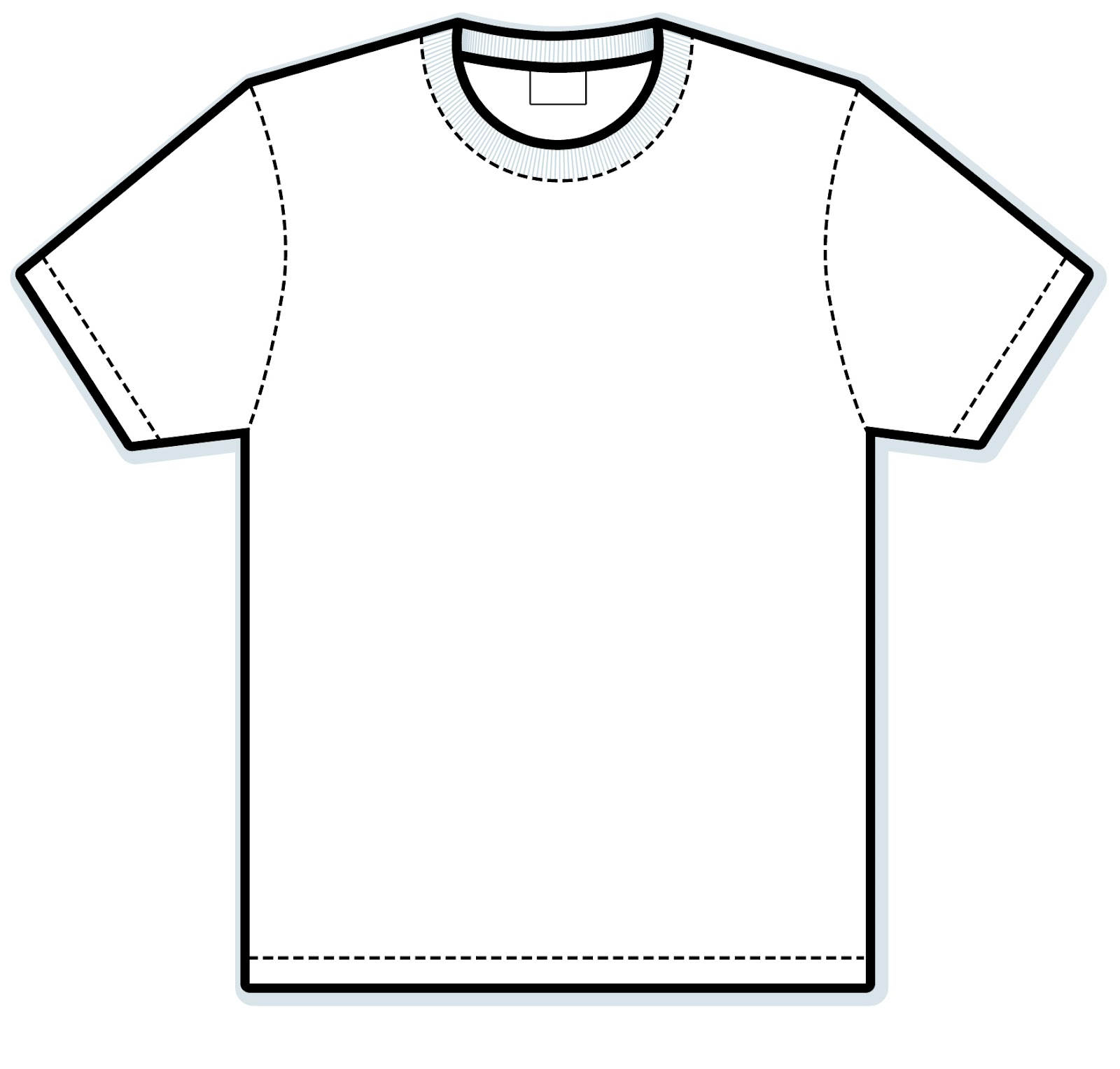 White T Shirt Clip Art Joy Studio Design Gallery
