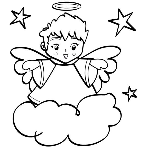 clip art angel wings