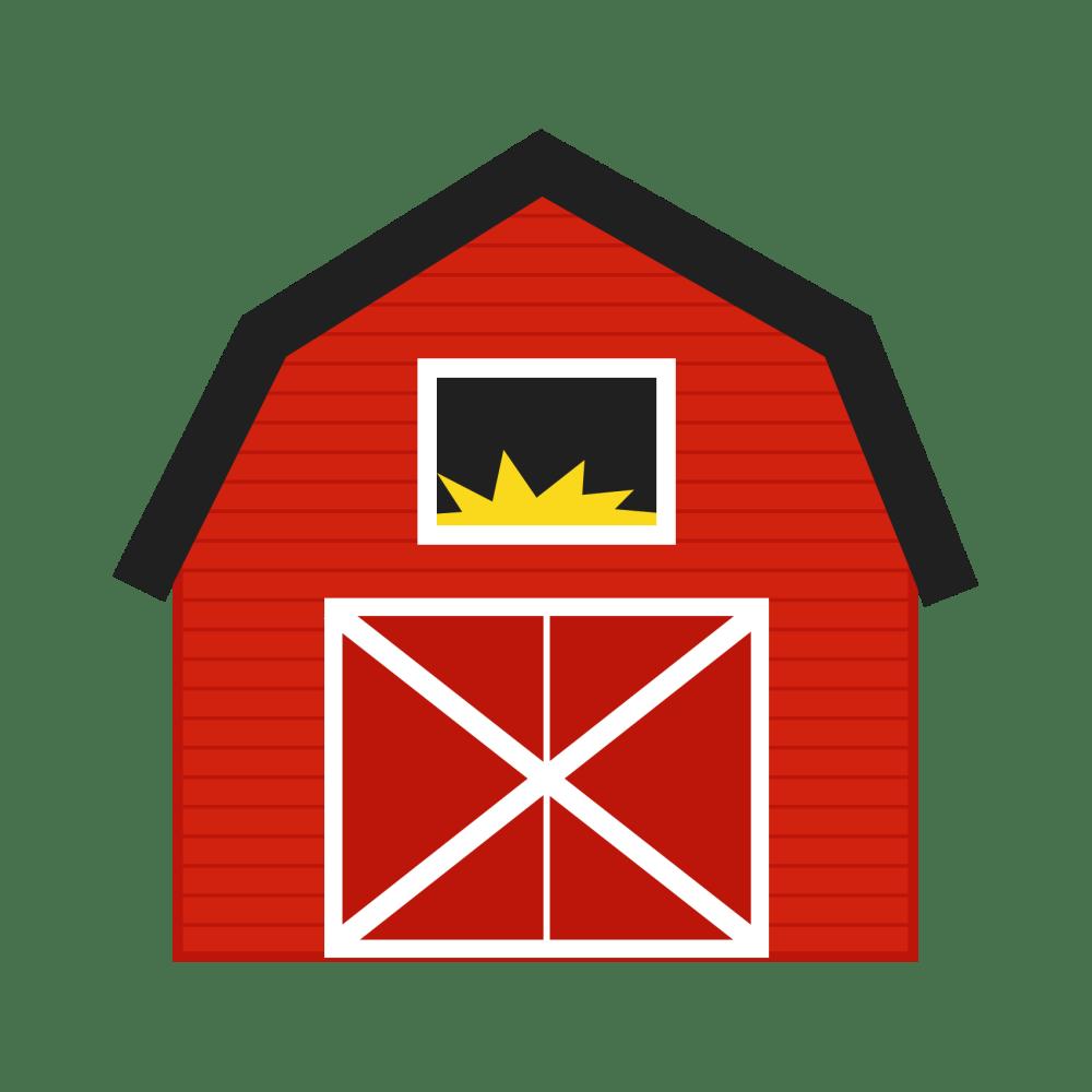 medium resolution of barn clipart