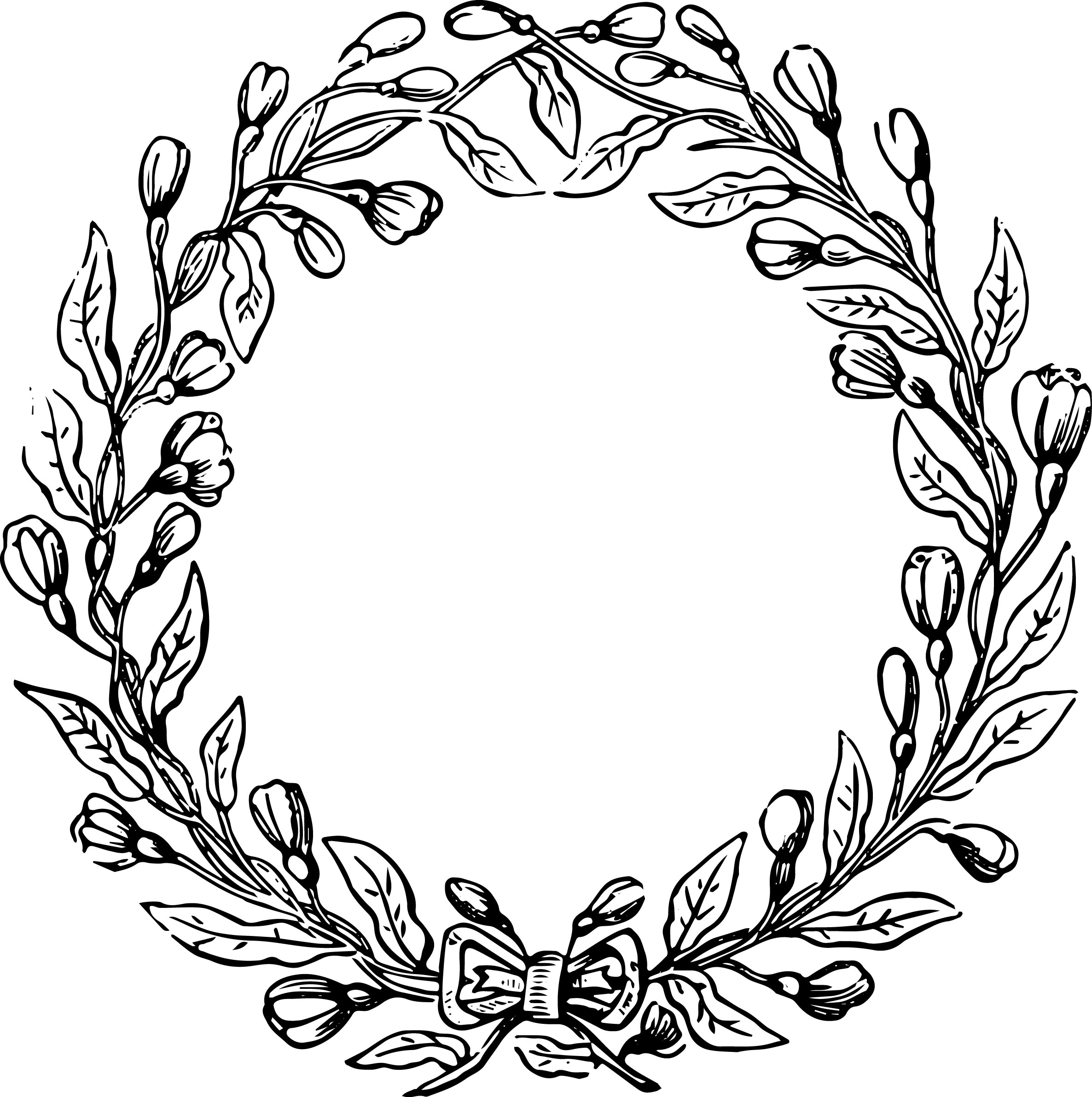 Laurel Wreath Clipart