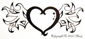 hearts heart drawings wings draw simple drawing easy cliparts designs clipart clipartmag pencil perfect clip