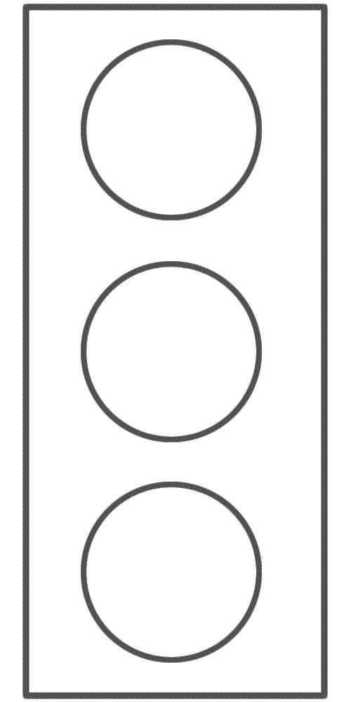 Traffic Light Page Template Coloring Pages