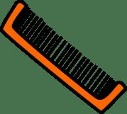 brush hair clip art