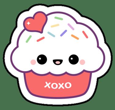 cartoon pics of cupcakes