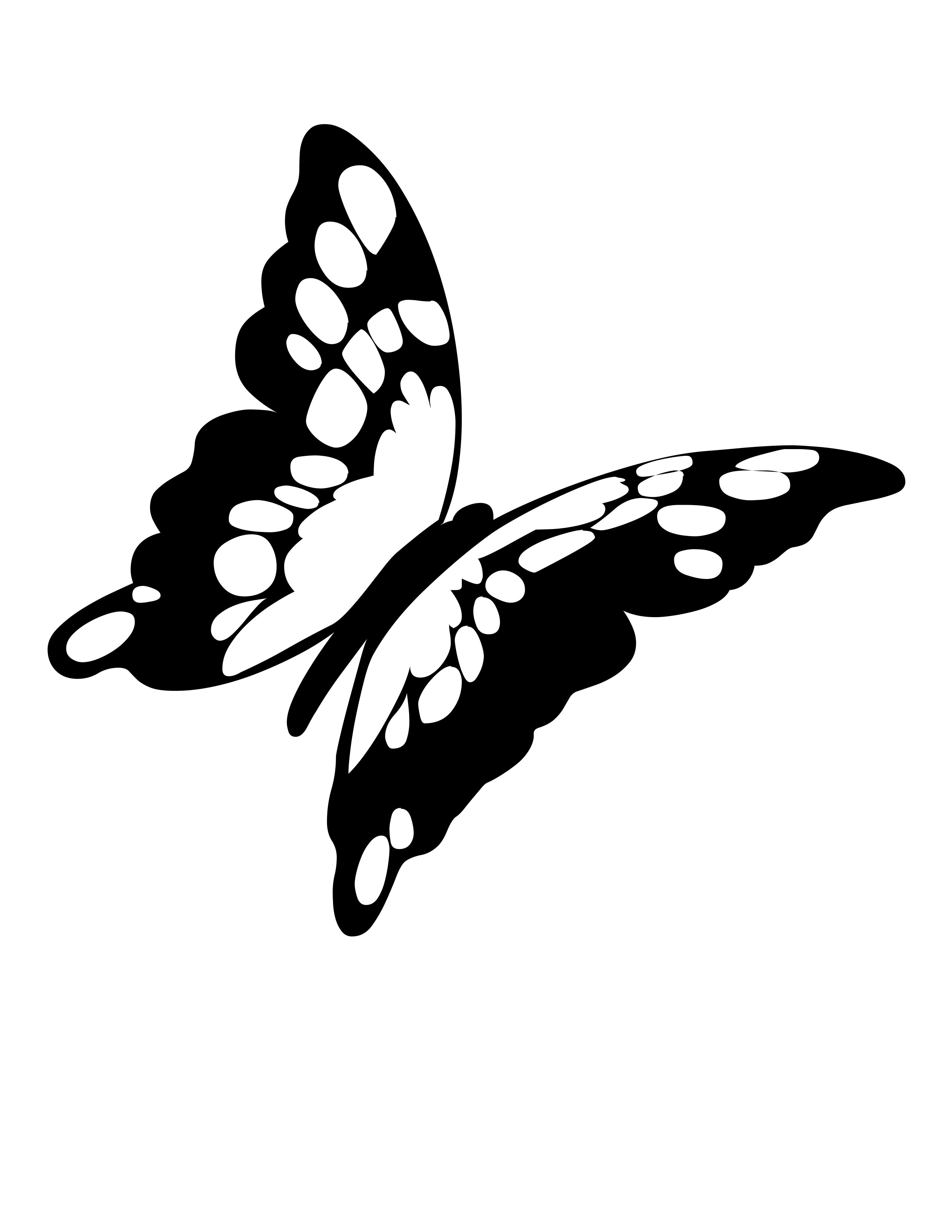 Cartoon Butterfly Clipart