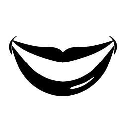 smile clipart mouth lips lip smiling cliparts dental clipartmag