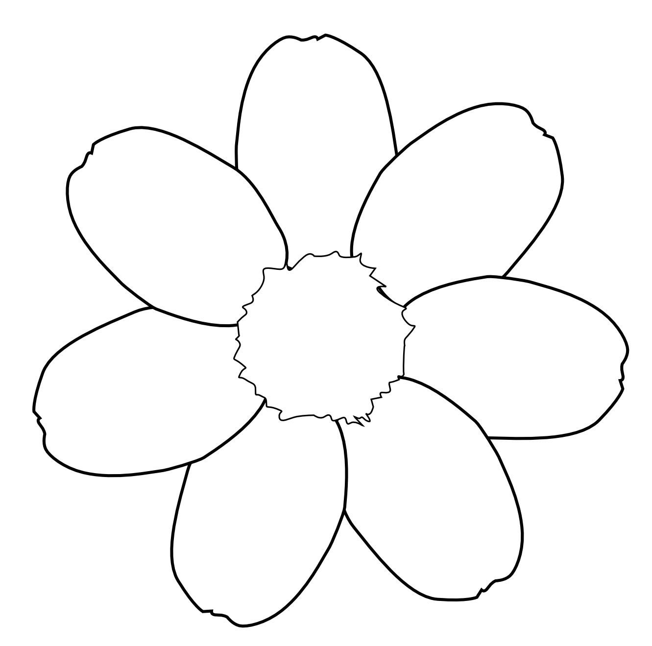 Daisy Flower Black White Line Art Tattoo Clip Art