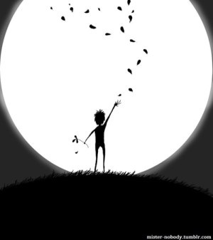 drawings drawing flower flowers boy moon favim sketches draw nature simple shadow clip cliparts illustration don library clipart hill guy