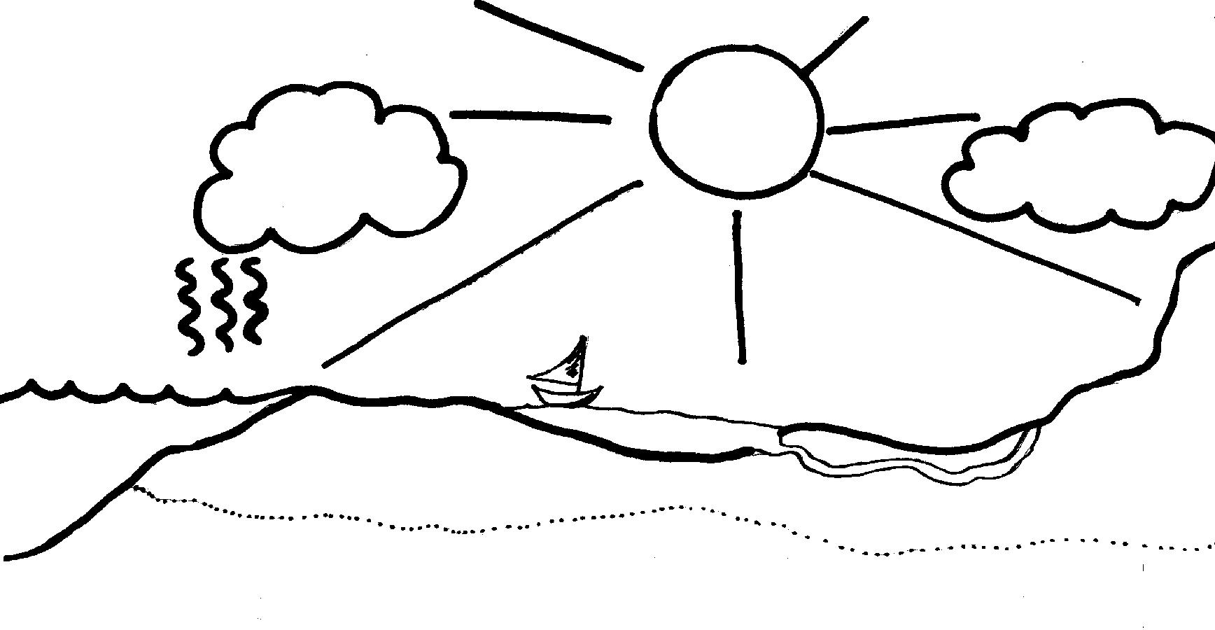 Water Cycle Clip Art