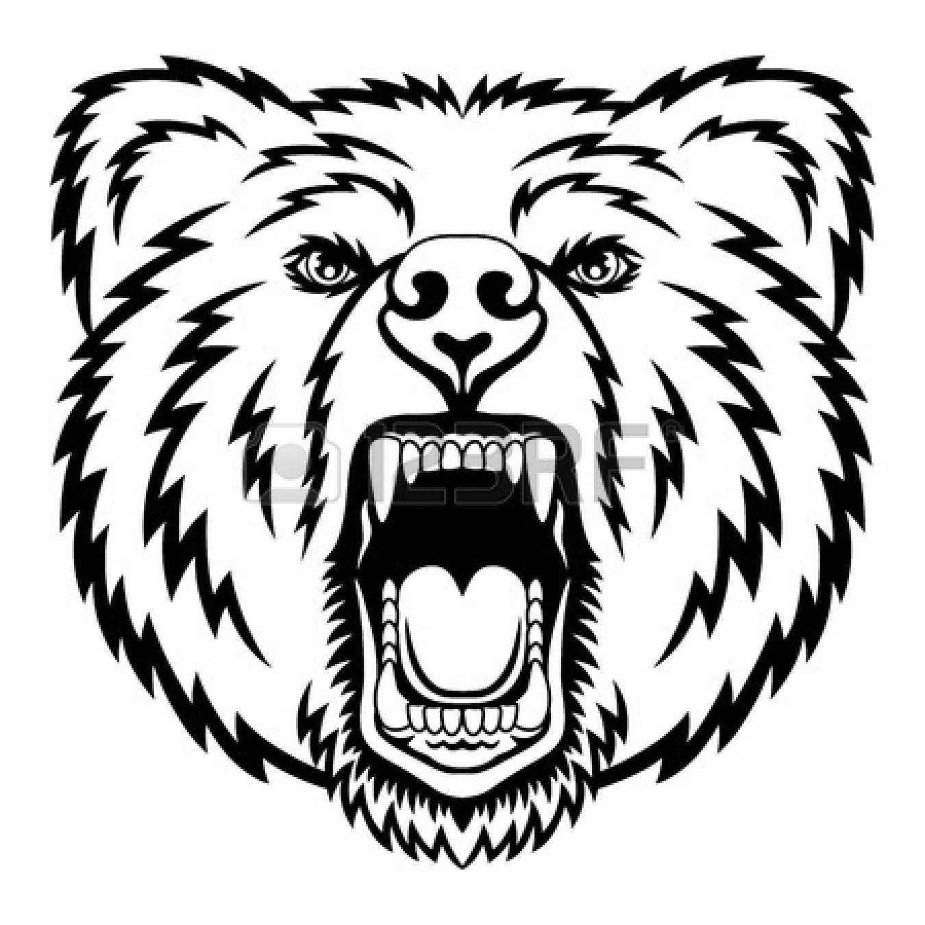 Bear Mascot Clipart