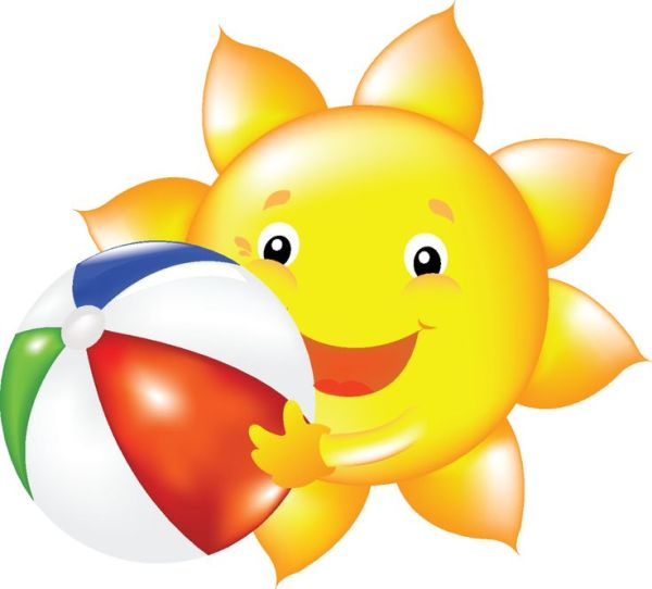 summer sun clip art cliparts
